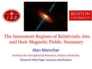 The Innermost Regions of Relativistic Jets and their Magnetic Fields: Summary