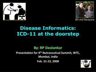 Disease Informatics: ICD-11 at the doorstep