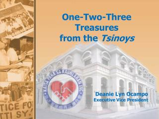 One-Two-Three Treasures from the  Tsinoys