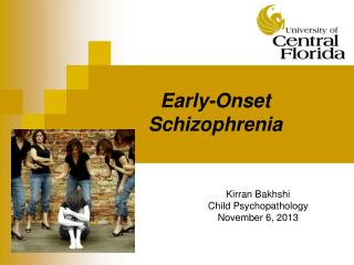 Early-Onset Schizophrenia
