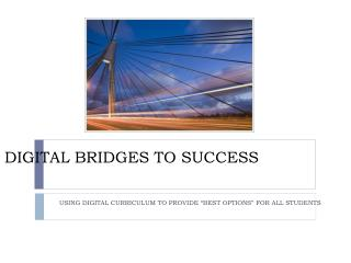 Digital Bridges to success