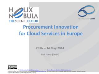 Procurement Innovation for Cloud Services in Europe