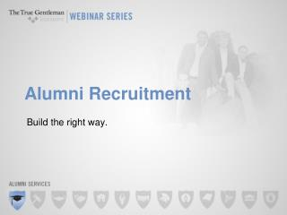 Alumni Recruitment