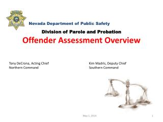 Division of Parole and  Probation Offender Assessment Overview