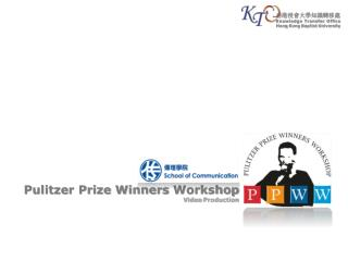 Pulitzer Prize Winners  Workshop Video  Production
