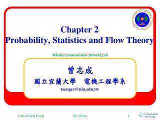 Chapter 2 Probability, Statistics and Flow Theory