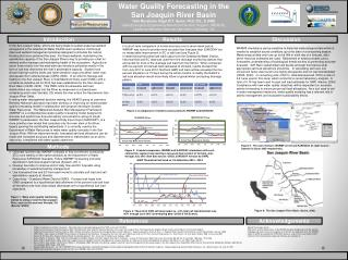 Water Quality Forecasting in the  San Joaquin River Basin