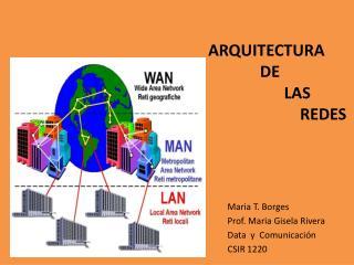 ArquitEctura              de                    las                        Redes