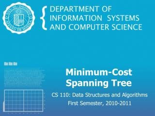 Minimum-Cost Spanning Tree