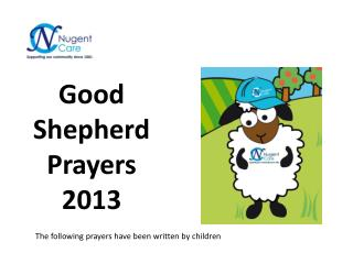 Good Shepherd Prayers 2013