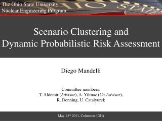 Scenario Clustering and  Dynamic Probabilistic Risk Assessment