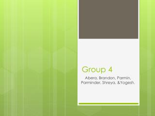 Group 4