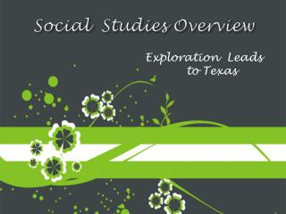 Social  Studies Overview