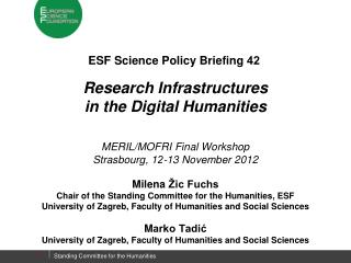ESF  Science Policy Briefing  42