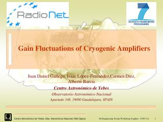 Gain Fluctuations of Cryogenic Amplifiers