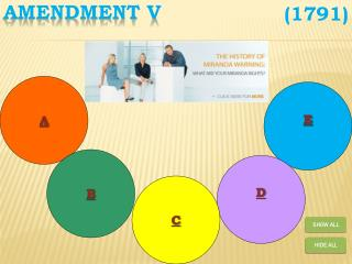 Amendment V