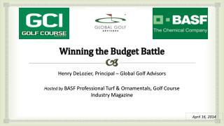 Winning the Budget Battle