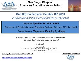 San Diego Chapter  American Statistical Association