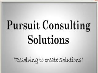 Pursuit Consulting Solutions