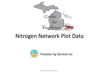 Nitrogen Network Plot Data