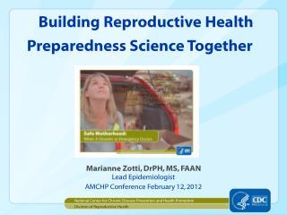 Building Reproductive Health Preparedness Science Together