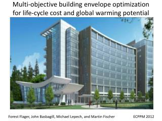 Multi-objective building envelope optimization  for life-cycle cost and global warming potential