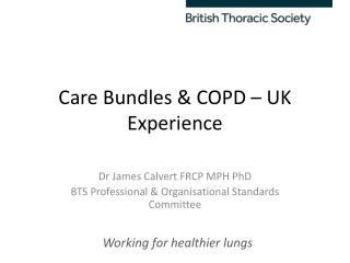 Care Bundles & COPD – UK Experience