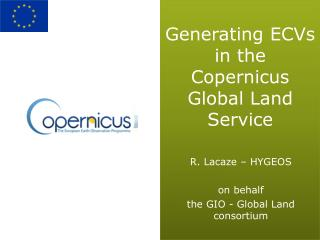 Generating ECVs in the Copernicus Global Land Service