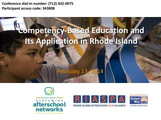 Competency-Based Education and Its Application in Rhode Island