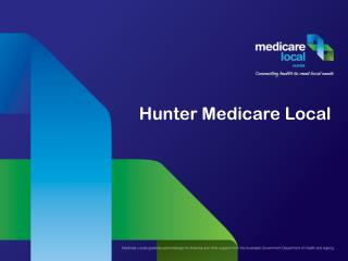 Hunter Medicare Local