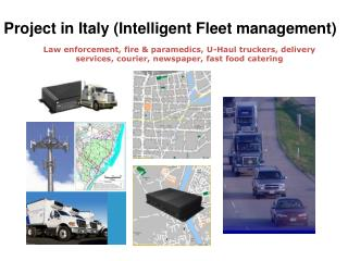 Project in Italy (Intelligent Fleet management)