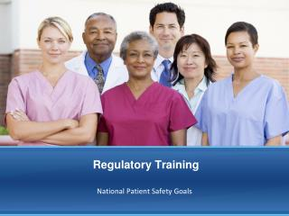 Regulatory Training