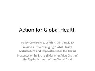 Action for Global Health
