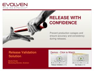 Release Validation  Solution