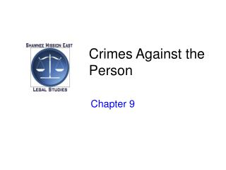 Crimes Against the Person