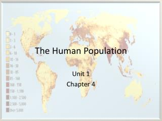 The Human Population