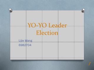 YO-YO Leader Election