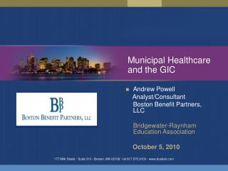 Municipal Healthcare and the GIC