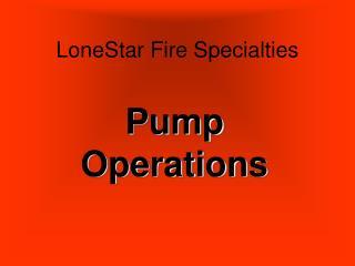 LoneStar Fire Specialties
