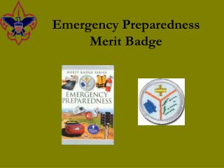 Emergency Preparedness Merit Badge