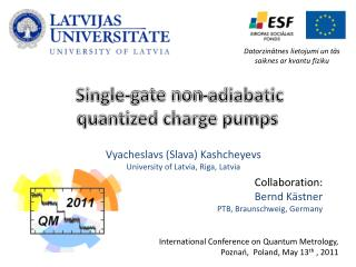 Single-gate non-adiabatic  quantized charge pumps