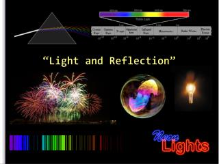"""""""Light and Reflection"""""""