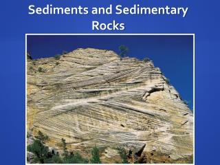 Sediments and Sedimentary Rocks