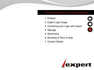 Expert Guidelines  for  Corporate Identity