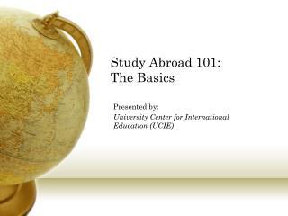 Study Abroad 101: The Basics
