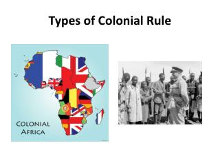 Types of Colonial Rule