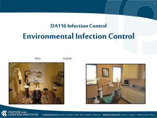 DA116 Infection Control Environmental Infection Control