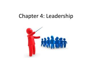 Chapter 4: Leadership