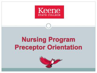 Nursing Program Preceptor Orientation