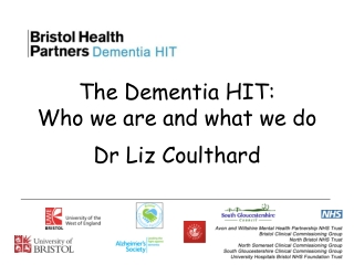 Dementia Diagnosis and Treatment in Primary Care